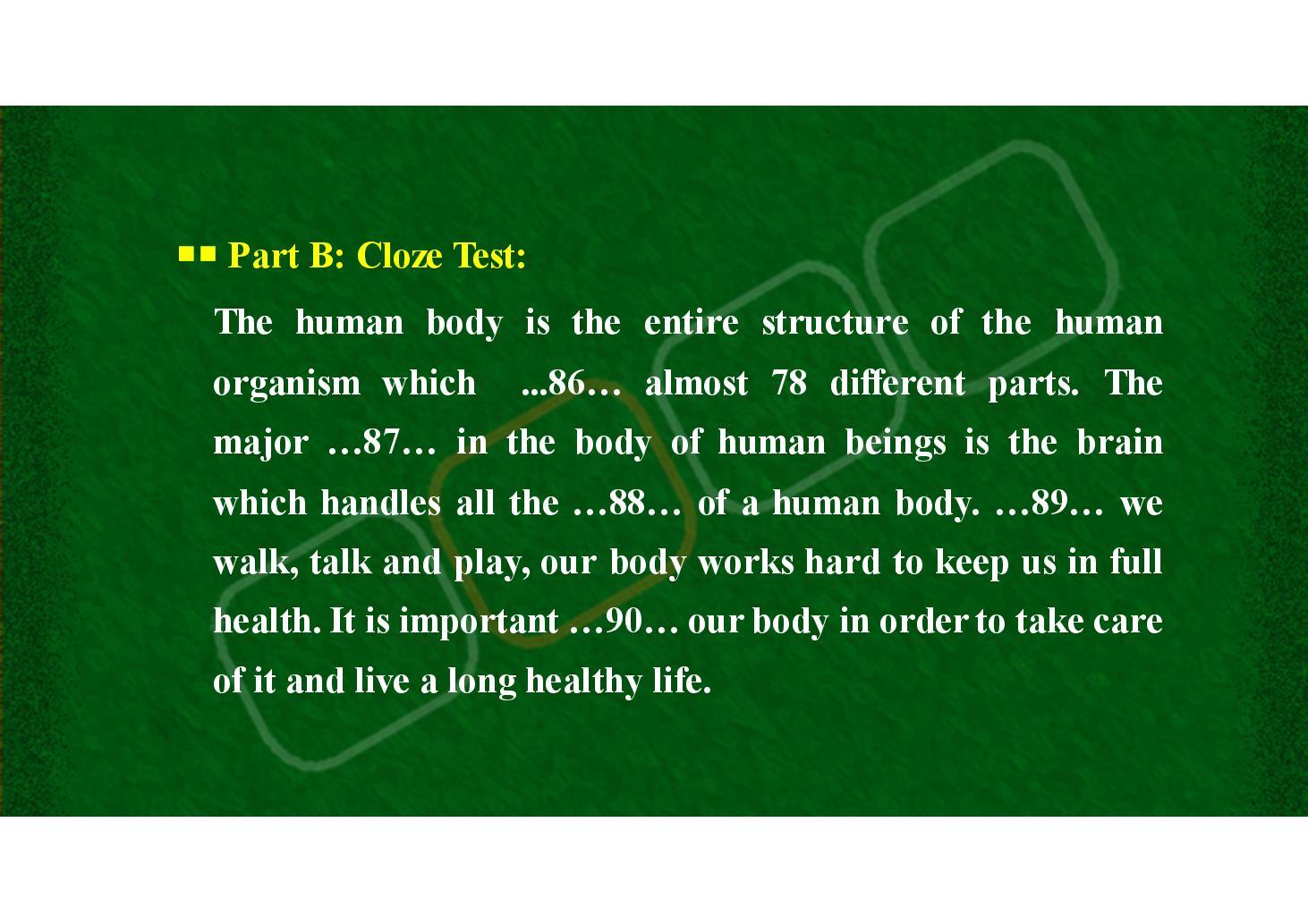 کلوز تست - 5 (PDF)