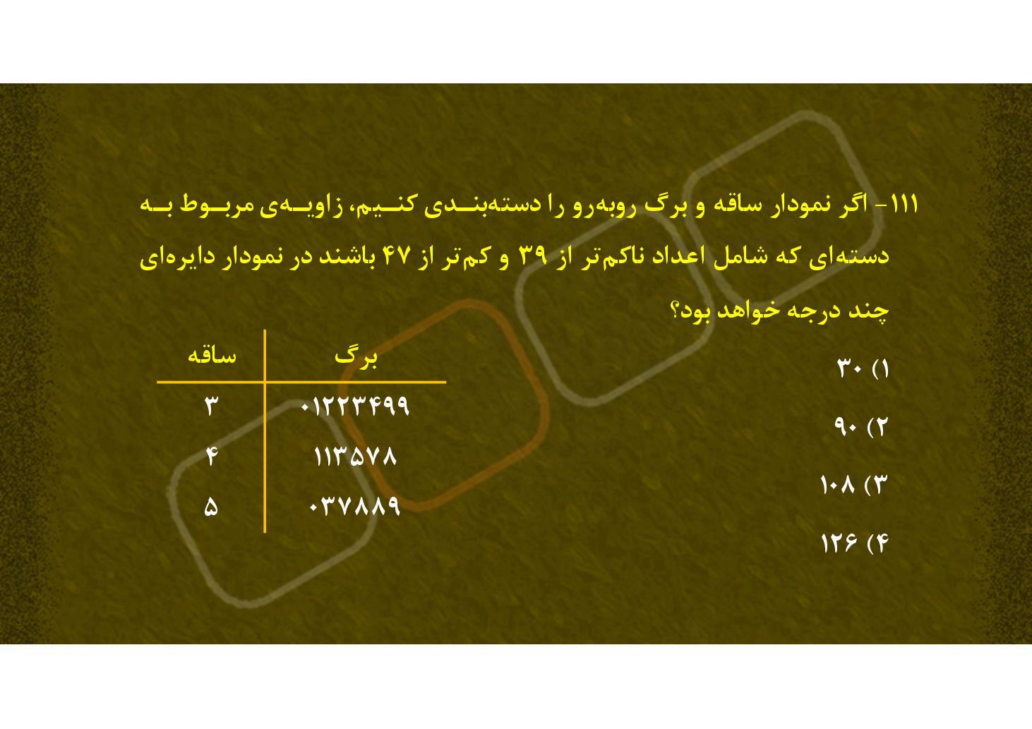 نمودار دایره ای - 1 (PDF)